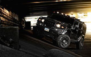 Фото бесплатно автомобиль, Хаммер, черный