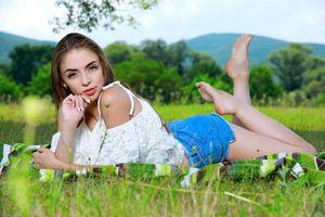 Бесплатные фото Agatha Ann,сексуальная девушка,beauty,сексуальная,молодая,богиня,киска