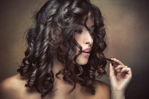 Фото бесплатно прическа, макияж, локоны