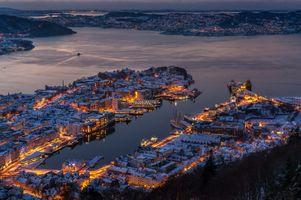 Фото бесплатно огни, Norway, Норвегия
