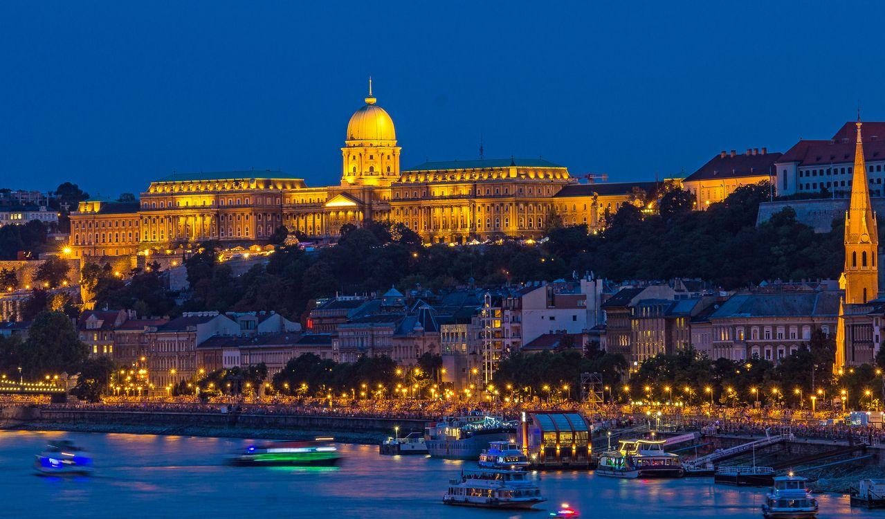 Фото бесплатно Castle HillBurgh gel, Будапешт, Венгрия - на рабочий стол