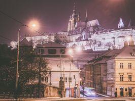 Фото бесплатно Зима в Праге, Чехия, город