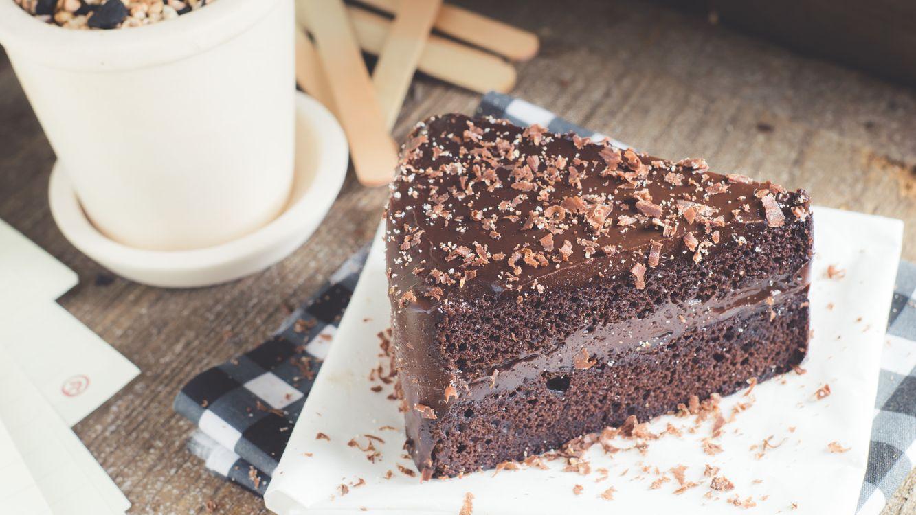 Скачать красивую заставку о шоколад, пирожное