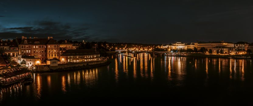 Photo free Prague, Czech Republic, night