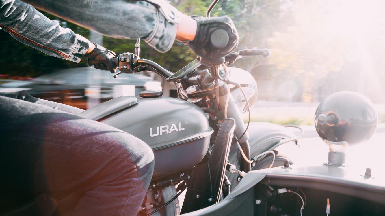 Фото бесплатно мотоцикл, классическа, надпись - на рабочий стол