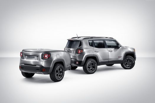 Jeep Renegade trailer · free photo