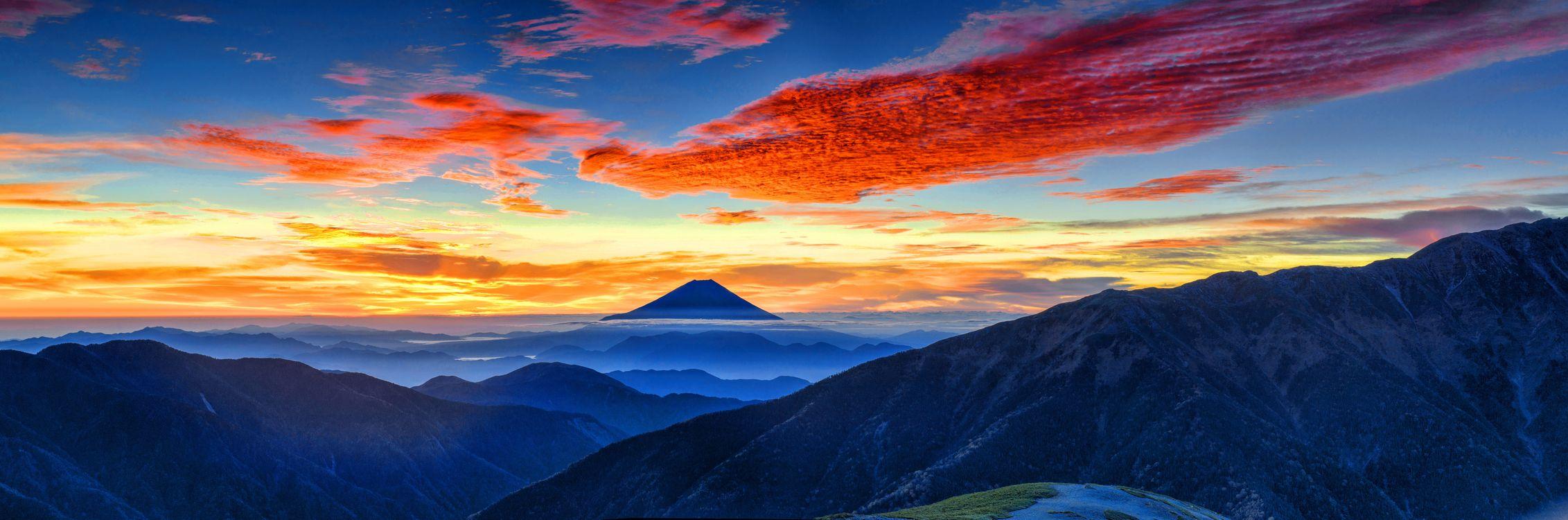 Фото Гора Фудзи Горы Природа - бесплатные картинки на Fonwall