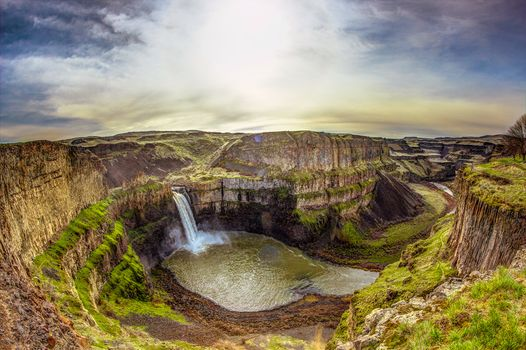 Photo free nature, Palouse Falls State Park, pond