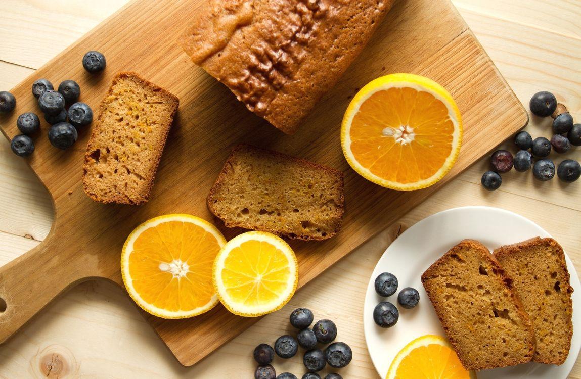 Фото бесплатно выпечка, пирог, ягоды, апельсин - на рабочий стол