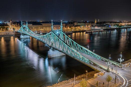 Photo free Liberty Bridge, Budapest, Hungary
