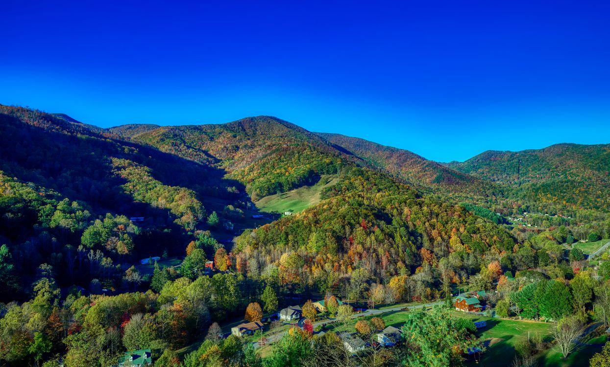 Фото бесплатно северная каролина, америка, горы - на рабочий стол
