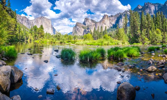 Photo free mountains, Merced River, landscape