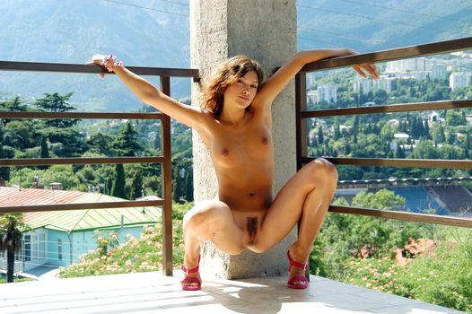 Photo free Sharon E, naked girl, poses
