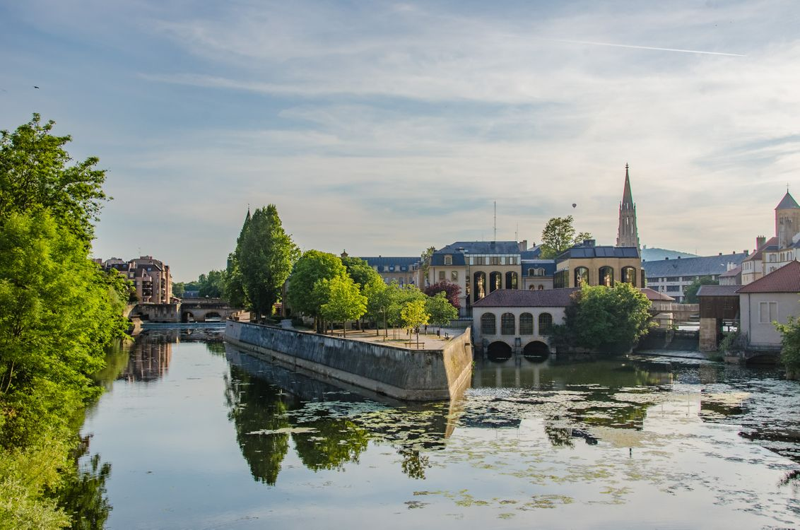 Река во Франция · бесплатное фото