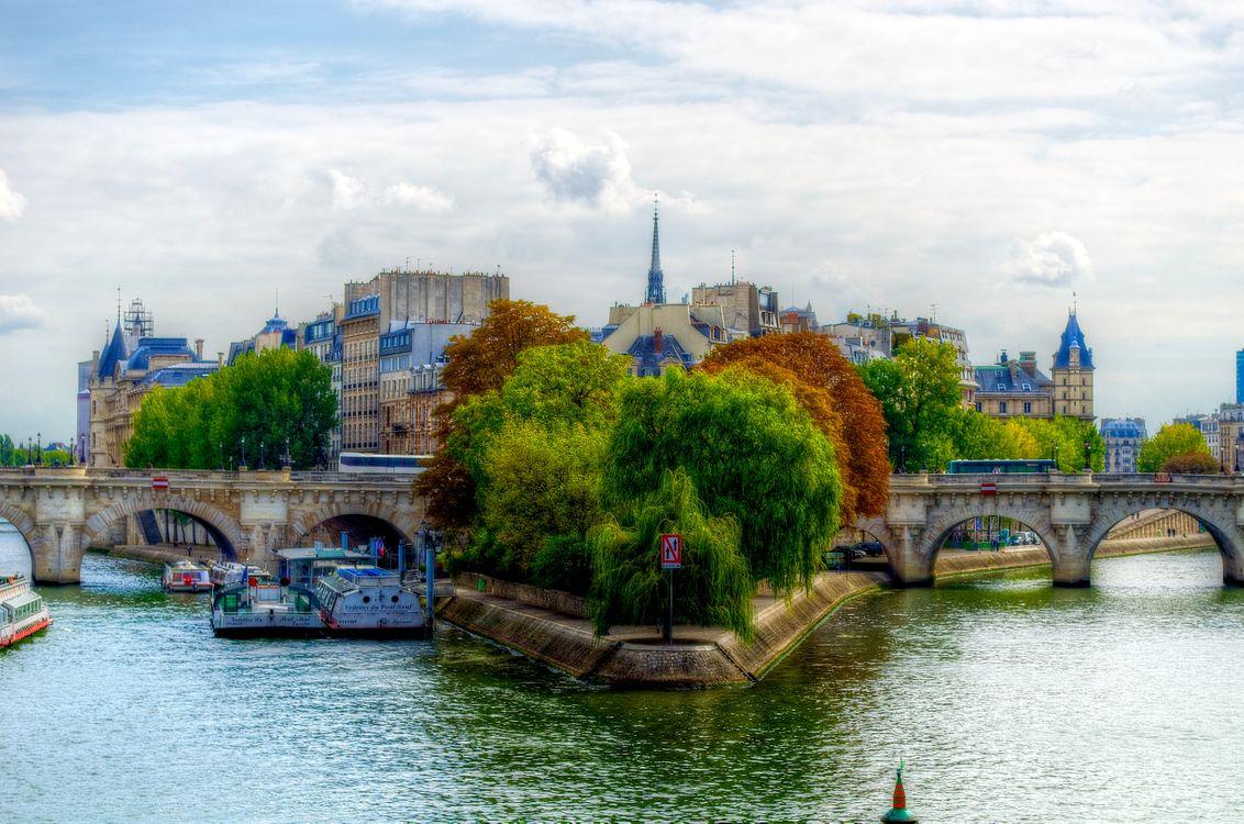 Осенний Париж · бесплатное фото