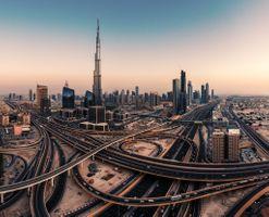 Фото бесплатно ОАЭ, Дубай, город