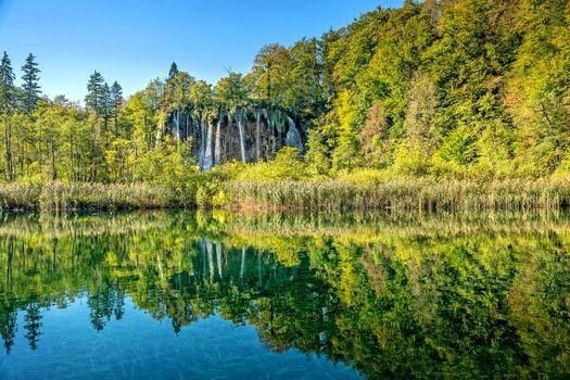Photo free Croatia, nature, waterfall
