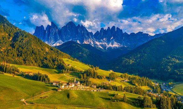 Бесплатные фото Dolemites,Доломиты,Италия,Южный Тироль,горы,холмы,небо,пейзаж