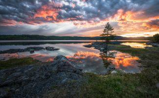 Фото бесплатно Ringerike, зима, озеро