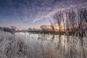 Фото бесплатно Вюмме река, Германия, Ротенбург