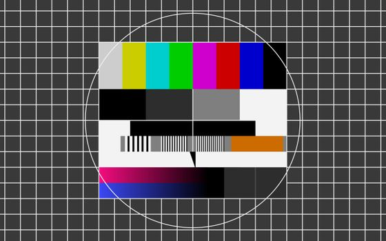 Photo free broadcast, pattern, test