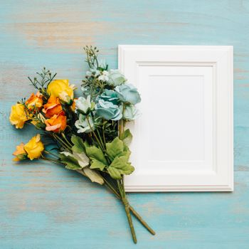 Photo free bouquet, frame, decor