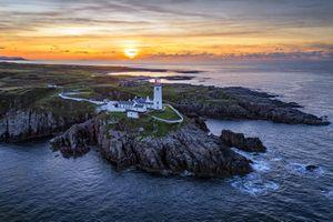 Бесплатные фото Полуостров Фанад,графство Донегал,Ирландия,море,скалы,маяк,закат
