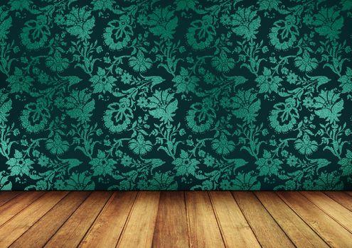 Фото бесплатно стена, пол, текстура, обои, деревянный пол, фон