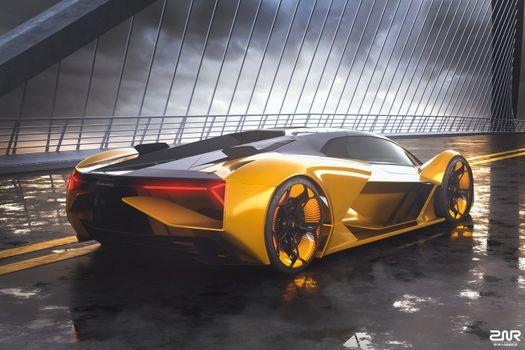 Photo free Lamborghini Terzo Millennio, Lamborghini, Concept Cars