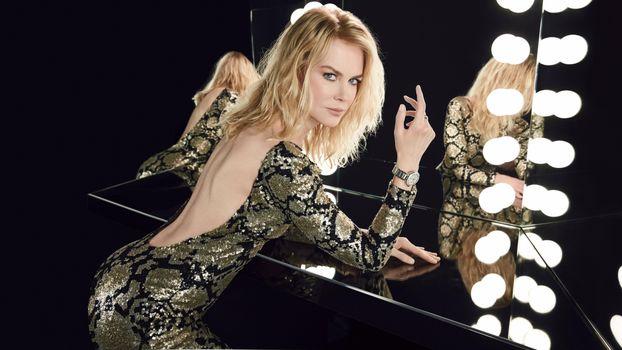 Photo free Nicole Kidman, actress, mirror