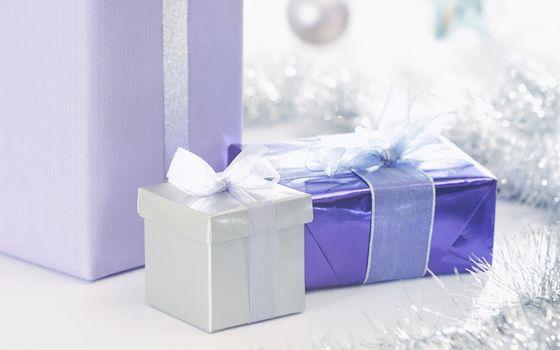 Фото бесплатно подарки, коробки, декор