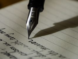 Заставки блокнот, письмо, рука