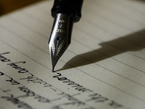 Фото бесплатно блокнот, письмо, рука