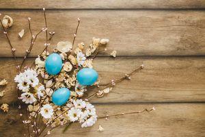 Photo free Christ is risen, Christ is Risen, Easter eggs