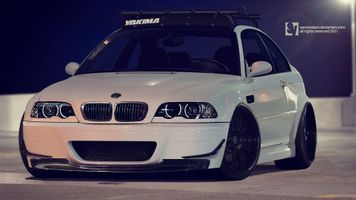 Фото бесплатно e46, bmw, купе, e-46, bmw m3, автомобиль, белые автомобили