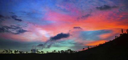 Фото бесплатно пейзаж, горизонт, облако