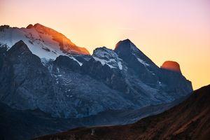 Заставки Скалы, горы, солнечный луч