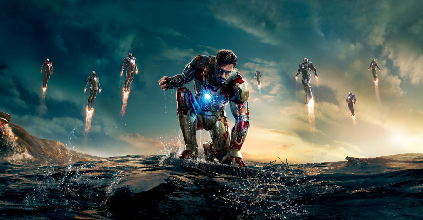 Photos for free Iron man 3 2013, movie, fantasy - to the desktop