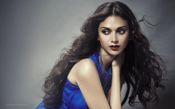 Индийская знаменитость Aditi Rao Hydari