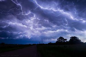 Фото бесплатно молния, небо, туча