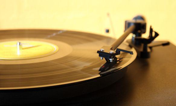 Photo free music, needle, player