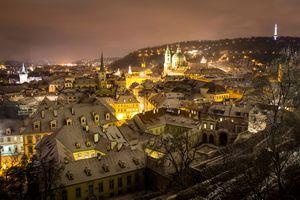 Заставки город, Прага, Пражский град