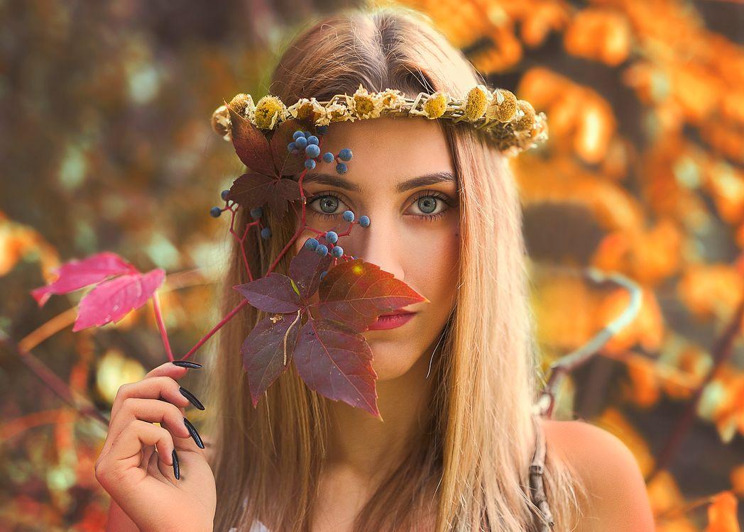 Гламурная девушка · бесплатное фото