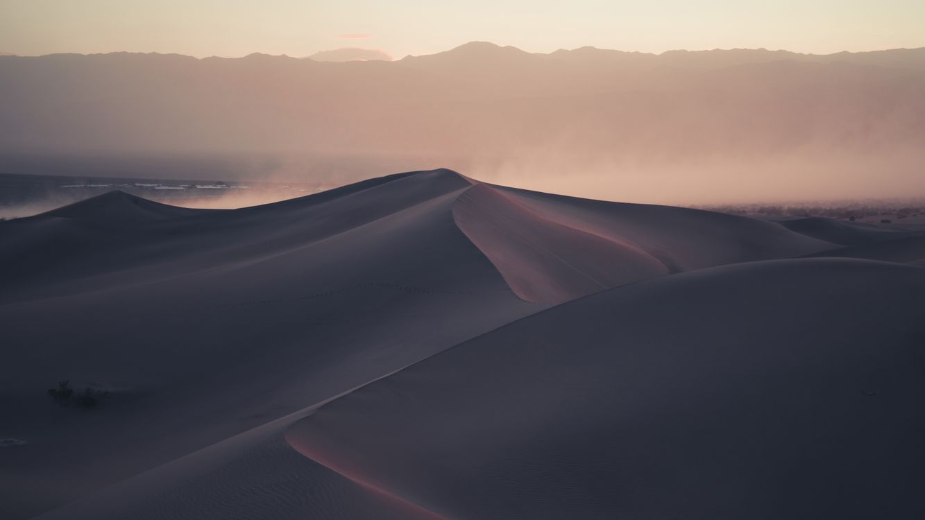 Free photo Desert, Dunes, Nature - to desktop