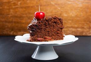 Бесплатные фото пирожное,шоколадное,крем,тарелка
