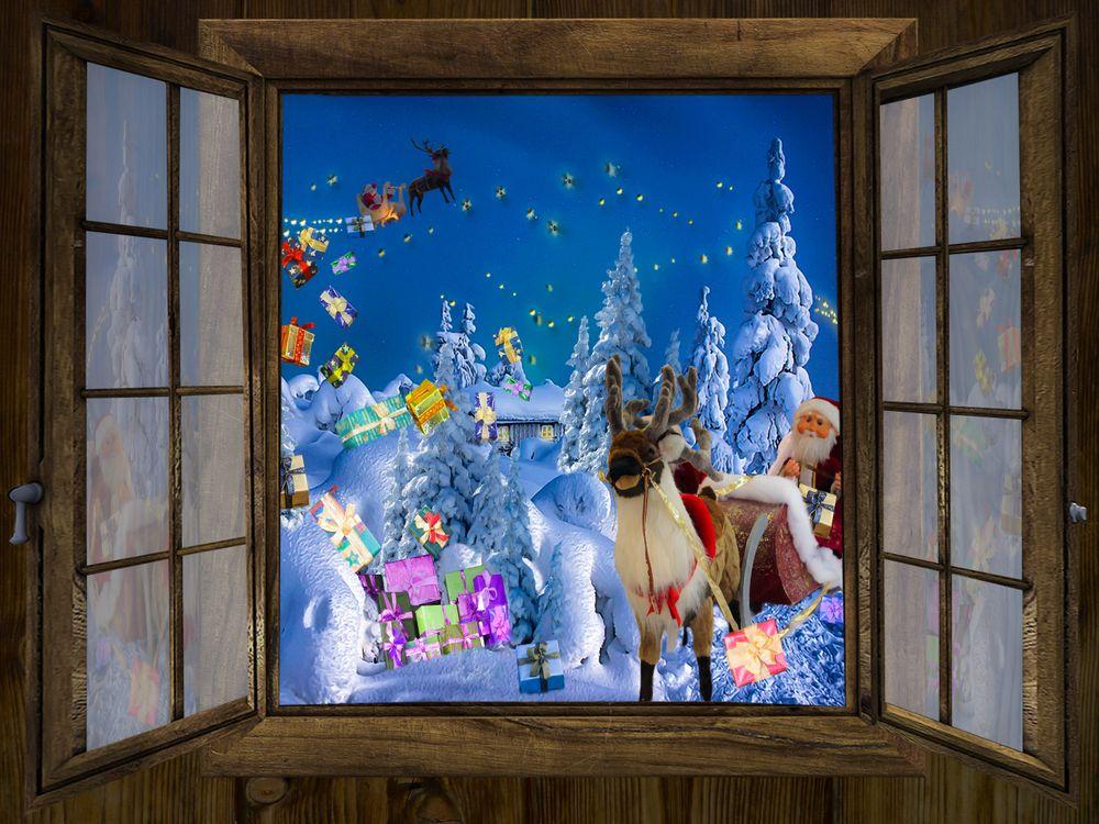 Фото бесплатно новогодние обои, Рождество, дед мороз - на рабочий стол