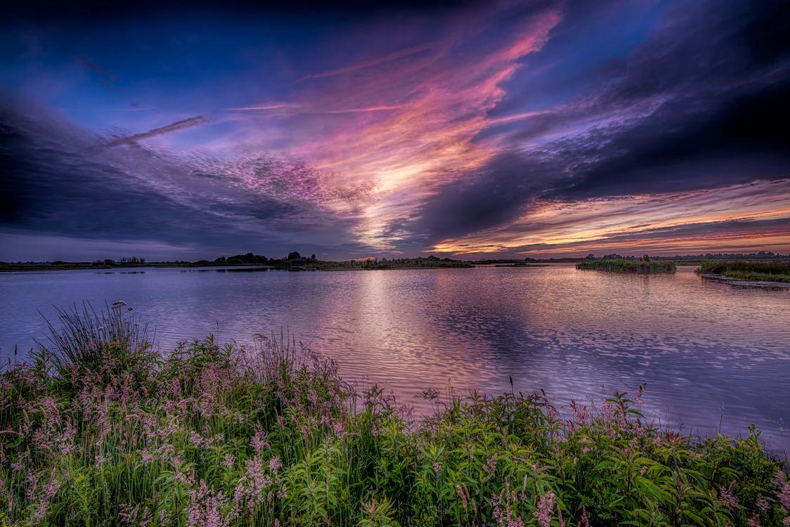 Фото бесплатно природа, закат, небо - на рабочий стол