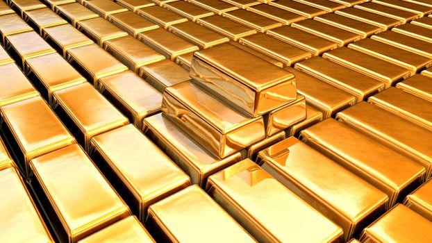 Фото бесплатно металл, золото, слитки