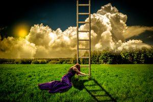 лестница в небо · бесплатное фото