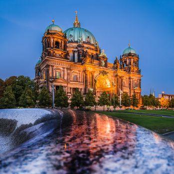 Photo free architecture, night, Germany
